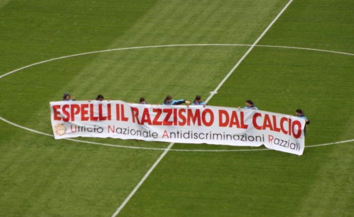 FOTO Napoli-Atalanta striscioni e spalti