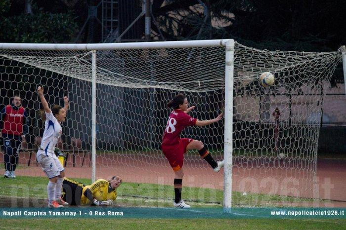 Napoli CF - Res Roma 1-0
