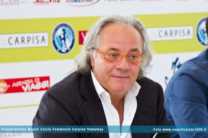 Presentazione del Napoli Calcio Femminile