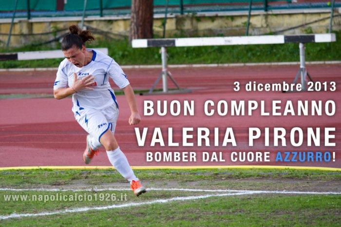 Napoli Femminile: auguri bomber Pirone!